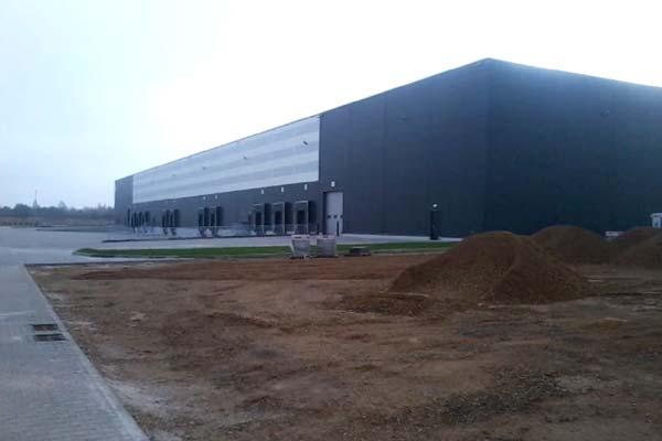 Postęp prac – Centrum Logistyczne w gm. Kłobuck